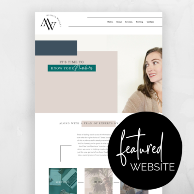 Melissa Whaley – Featured Website!