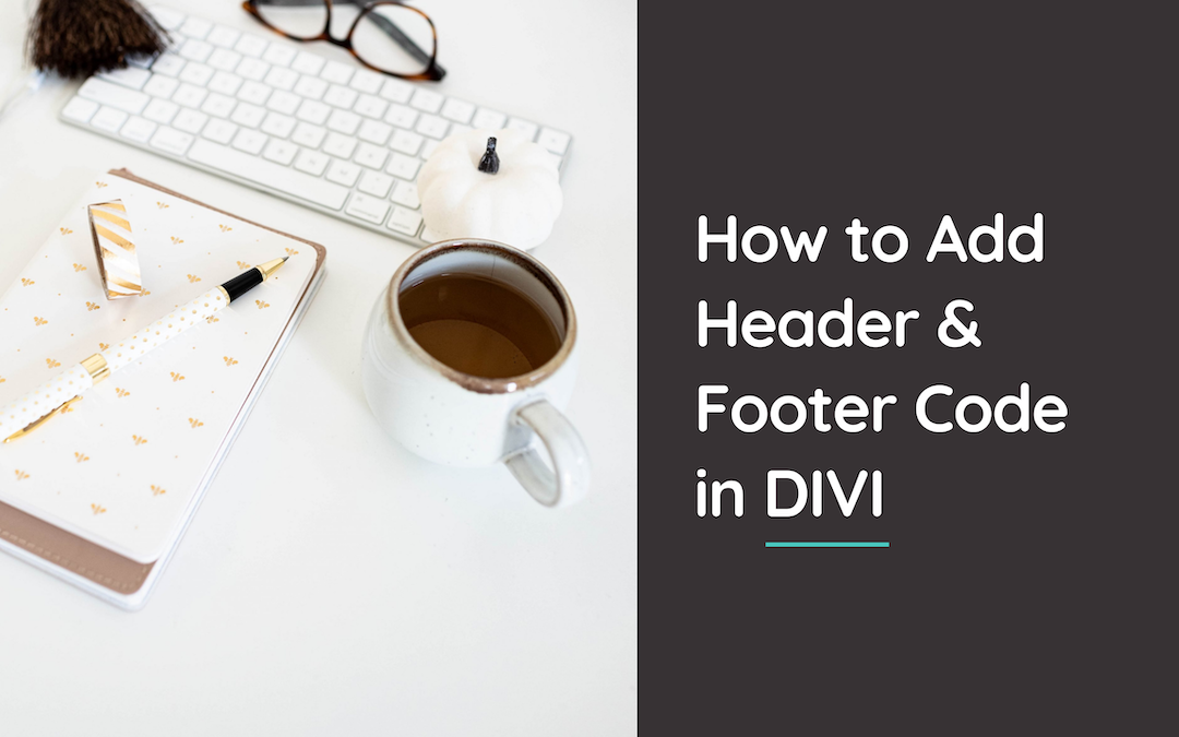 Learn how to effortlessly add header and footer code to your website using the Divi theme in this super short, actionable tutorial. @hellosammunoz www.samanthamunoz.com