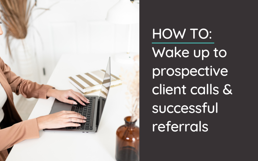 In today's video & post I walk through how to wake up to a full calendar of discovery calls and successful referrals - through strategy & simplicity. @hellosammunoz www.samanthamunoz.com