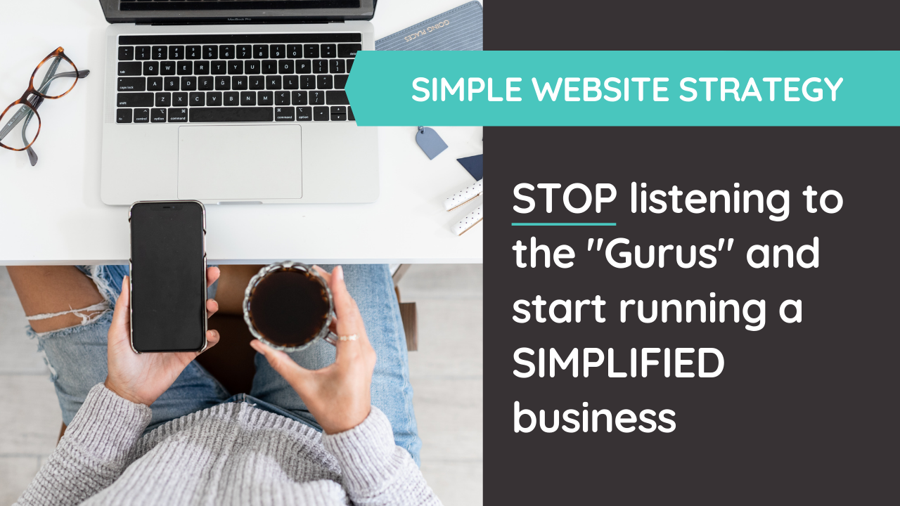 "What the ""Gurus"" Don't Want You To Know about Running a Simple Business"