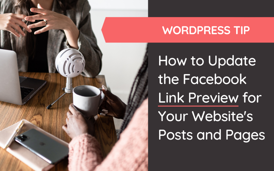 Look super professional when you learn how to update the Facebook link preview for your website's posts & pages with an image & text YOU choose. www.samanthamunoz.com