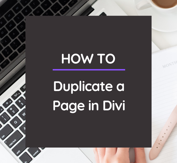 Love a page on your website & want to make an exact copy? Learn how to duplicate a page in Divi - easy peasy! @hellosammunoz www.samanthamunoz.com