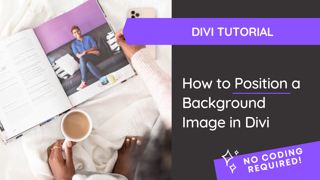 How to Position a Background Image in Divi